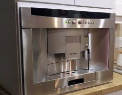 Built in Thermador coffee machine