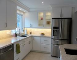 One of Kestle Interiors' most dramatic kitchen makeovers--Check out our blog to see the 'before' photo!