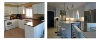 Society Crescent, Newmarket Kitchen Renovation