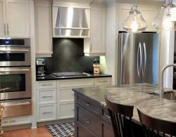 Kitchen Designs Holland Landing with Shaker Doors & Island