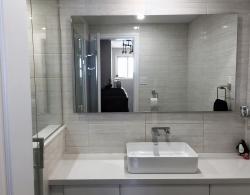 Elevated mirror, Kestle Interiors design Newmarket