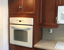 Built-in, eye-level single oven