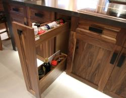 Unique Storage Kitchen Island for Sharon