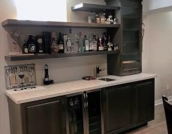 Bar Basement renovation Kestle Interiors Newmarket