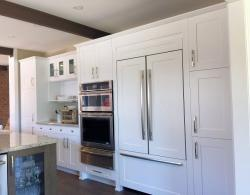 Framed and Enclosed Kitchen Fridge Ideas for King City