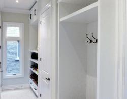 Mudroom renovation creates loads of storage!