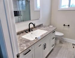 Quartz Countertop Bathroom Renovations Bradford