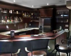 Sharon Bar Basement Makeover Kestle Interiors